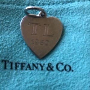 Vintage Tiffany & Co heart custom maid 1990 TL